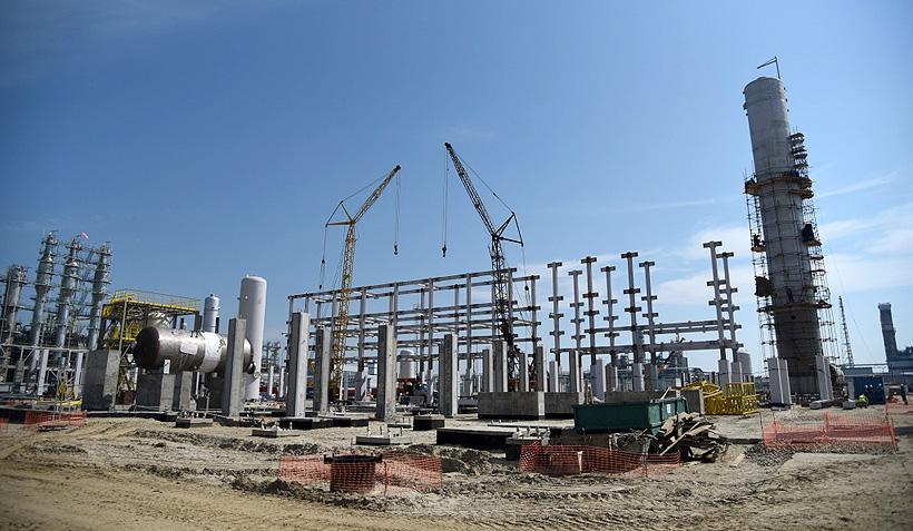 Завода по производству малеинового ангидрида в Тобольске. Фото: СИБУР
