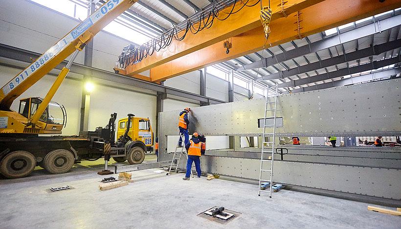Компания Lindauer Dornier монтирует первую линию по производству БОПЭТ-плёнок на заводе «Титан-Полимер» в ОЭЗ «Моглино» Псковской области