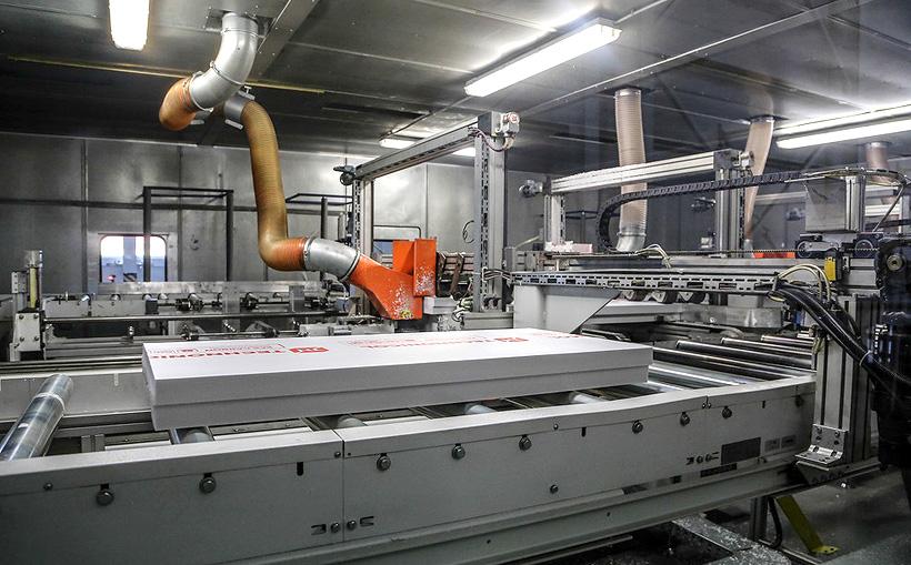 Модернизация позволила увеличить производительность линии по выпуску XPS-плит в Учалах на 25%