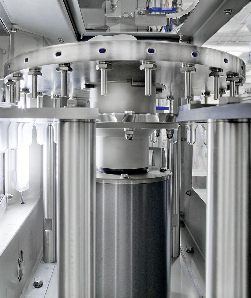Благодаря новой линии компания Sangaria осуществляет розлив в бутылки 500 мл со скоростью 24 тыс. бутылок в час