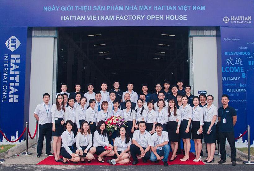 Открытый день на заводе термопластавтоматов Haitian во Вьетнаме