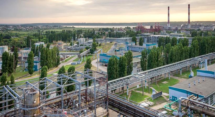 Завод «Воронежсинтезкаучук». Фото: Сибур