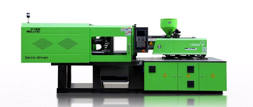 Термопластавтомат производства WELLTEC (COSMOS) серии SE KII IMM усилием смыкания от 90 до 260 т