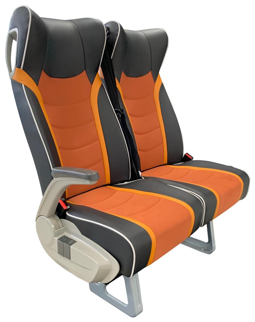 Полиуретановые кресла для автобусов Yutong. Фото: BASF