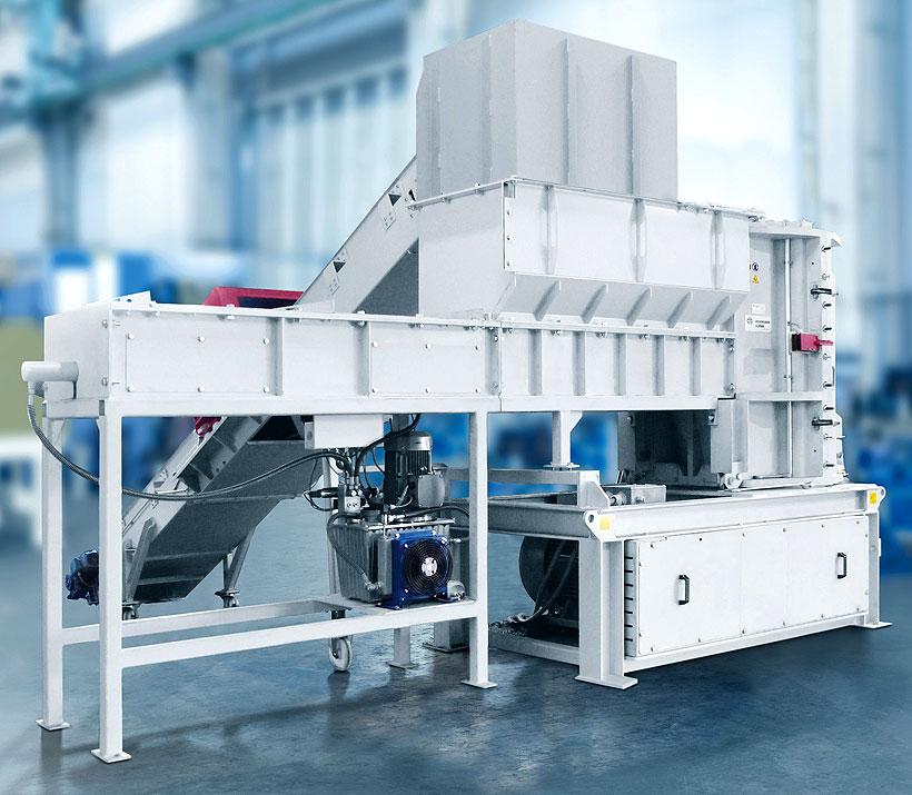 Новый шредер-гранулятор HOSOKAWA ALPINE марки Polyplex для измельчения пластмасс любого типа