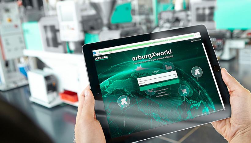 Портал для клиентов arburgXworld компании ARBURG предлагает один из самых полных спектров цифровой продукции и услуг в области литья под давлением