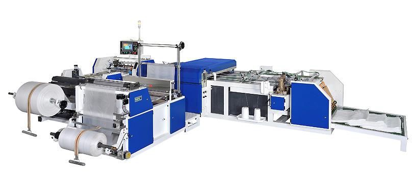 Оборудования для автоматического производства пропиленовых мешков с полиэтиленовыми вкладышами, Botheven Machinery (Тайвань)