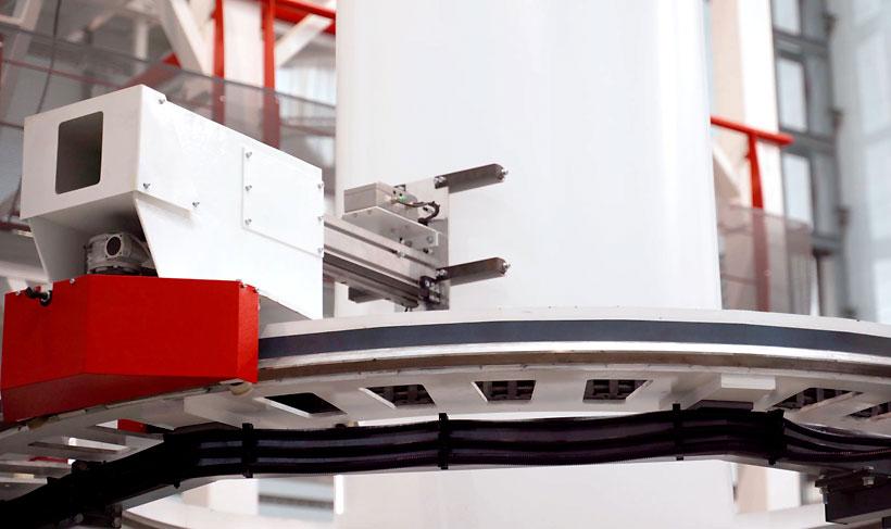 Датчик измерения разнотолщинности рукавных пленок в системе «Алеко Машинери»