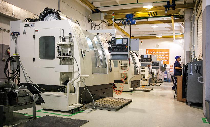 Новые современные металлообрабатывающие центры на Заводе пластмассовых изделий «Альтернатива» получены благодаря поддержке ФРП