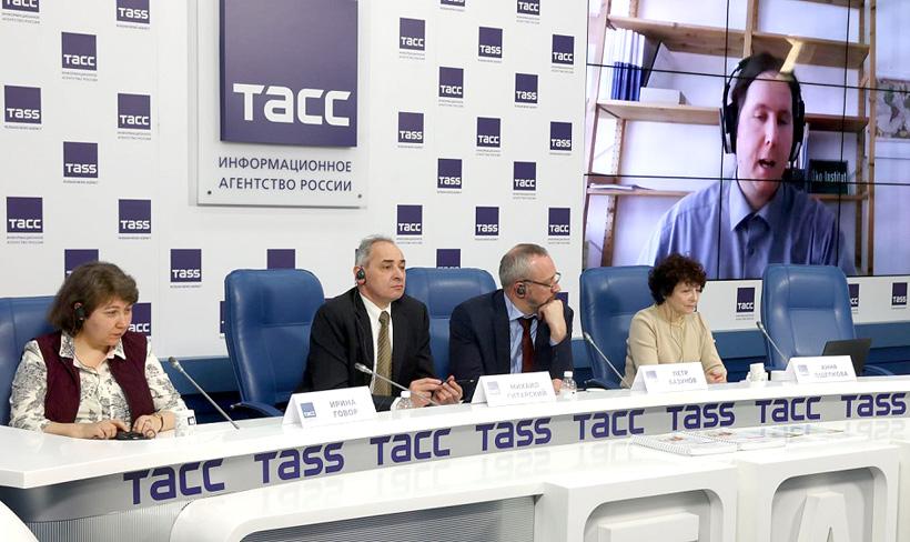 Конференция «Роль отрасли обращения с отходами и экономики замкнутого цикла в контексте климатической нейтральности» в пресс-центре ТАСС