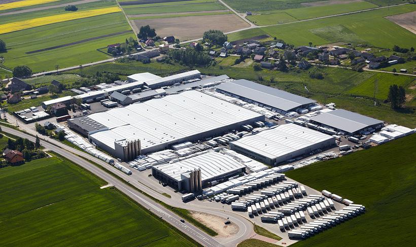 Завод по производству ПВХ-окон швейцарской компании Arbonia под маркой Dobroplast в Польше