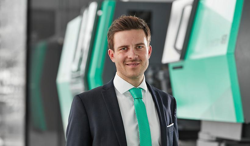 Бертрам Стерн (Bertram Stern), менеджер по устойчивому развитию в ARBURG