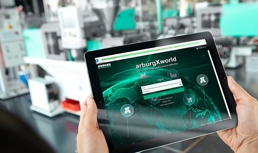 Благодаря многочисленным интерактивным приложениям и интеллектуальным функциям портал Arburg для клиентов arburgXworld облегчает ежедневную работу, связанную с литьем пластмасс под давлением