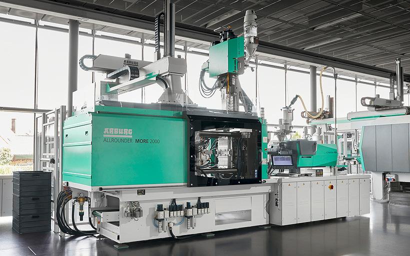 Больше модульности, больше места, больше простоты в использовании: новая серия термопластавтоматов Arburg Allrounder More оснащена многочисленными оптимизированными функциями для эффективного производства двухкомпонентных изделий