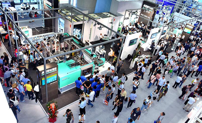 Стенд компании ARBURG на выставке Chinaplas в 2019 году