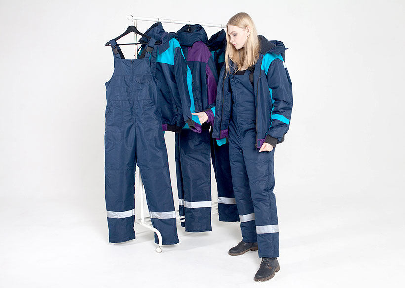 Комплект спецодежды из греющего текстиля для экстремальных погодных условий производства «АрктикТекс»