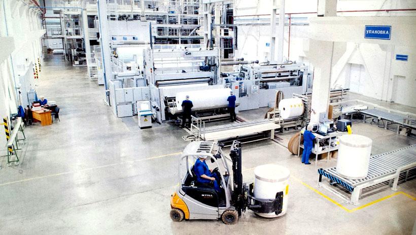 Производство нетканых материалов на заводе «Авгол-Рос» в Тульской области мощностью 27 тыс. т в год, который с 2018 года принадлежит Indorama Ventures
