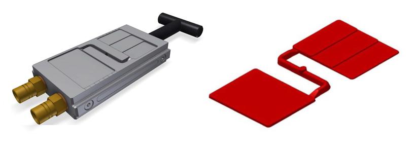 Пластинки для определения цветовых свойств полимеров, ступенчатые пластинки для определения прозрачности