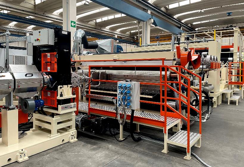 Экструзионная линия BG Plast для производства полимерных мембран