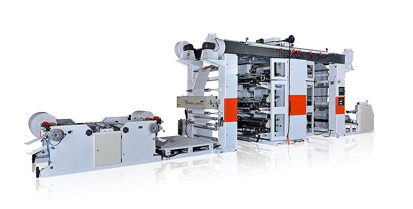 Новая модель линии для печати на ПП-мешках NRP 2012-6C