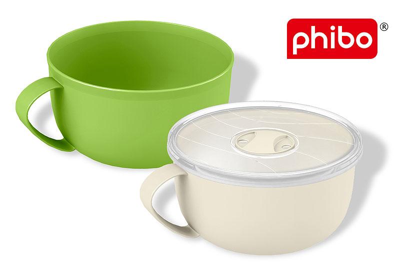 Полипропиленовая кружка Phibo позволяет разогревать блюда в микроволновой печи