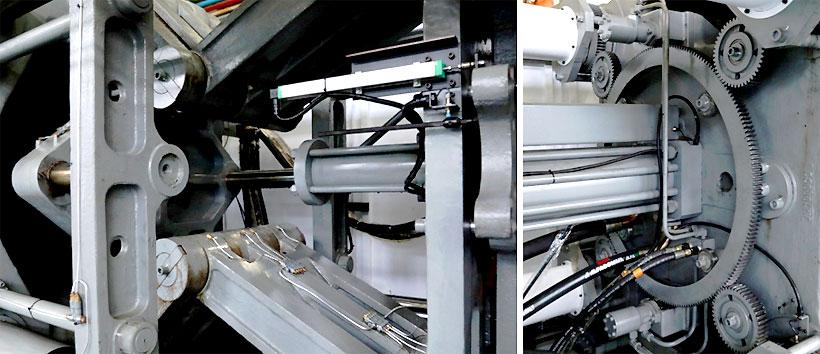 Узел смыкания новой серии ТПА JETMASTER MK6 largeимеет увеличенные ход открытия и расстояние между колоннами