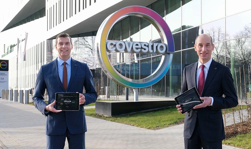 Генеральный директор Маркус Стейлеманн (слева) и финансовый директор Томас Тёпфер представили результаты за 2020 год онлайн