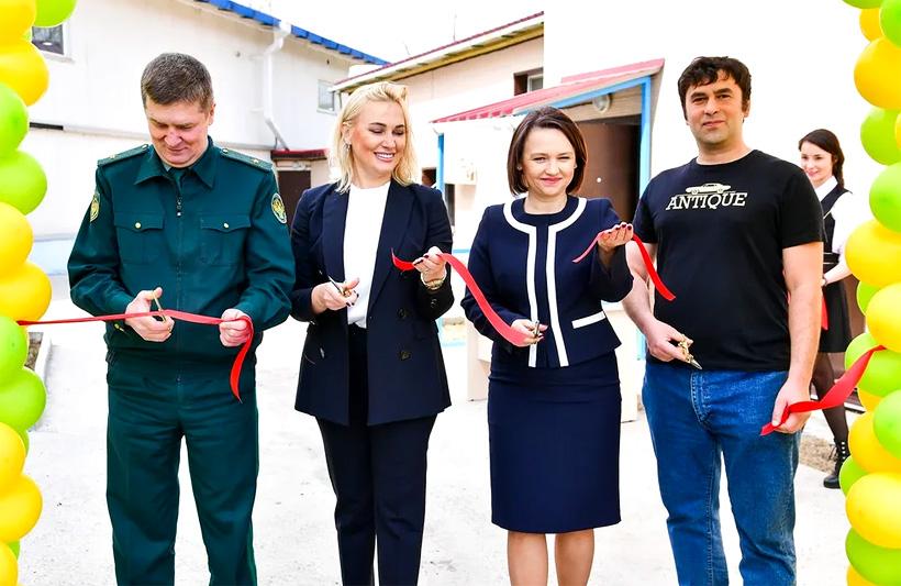 Открытие завода «Диона» по производству детских одноразовых подгузников в Владивостоке