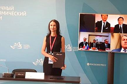 Генеральный директор Приморского «Европласта» Ирина Ракоед подписала новый контракт на поставку ПЭТ-преформ в Японию