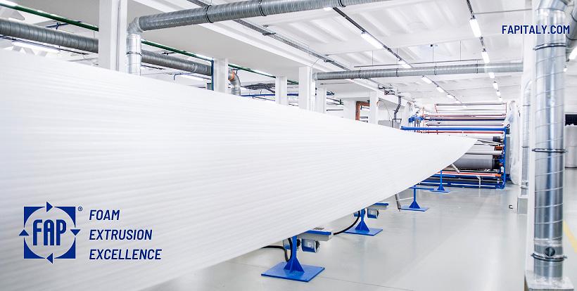 Оборудование FAP для производства пеноматериалов