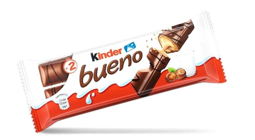 Полимерная пленка для упаковки таких продуктов Ferrero как Kinder Bueno станет на 20% тоньше