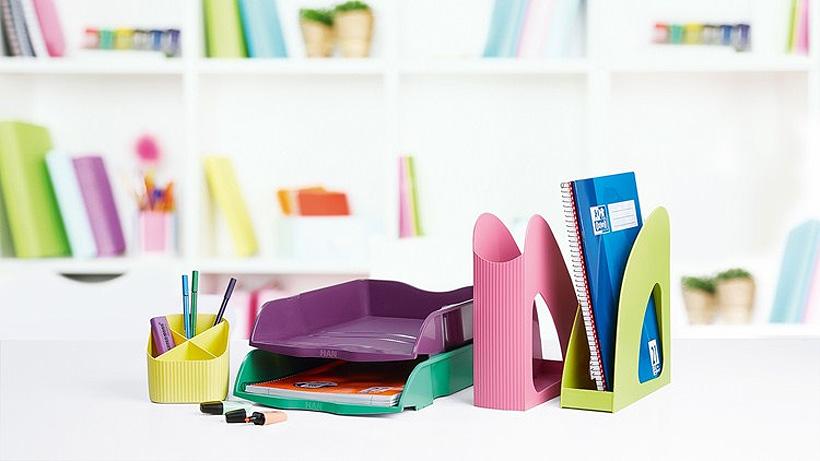 Офисные принадлежности HAN серии LOOP изготовлены из вторичного гранулята производства WIS Kunststoffe GmbH