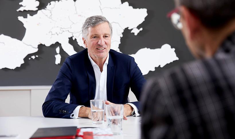 Харальд Коглер, генеральный директор группы Hirsch Servo с 2014 года, значительно расширил мощности компании за счет различных приобретений