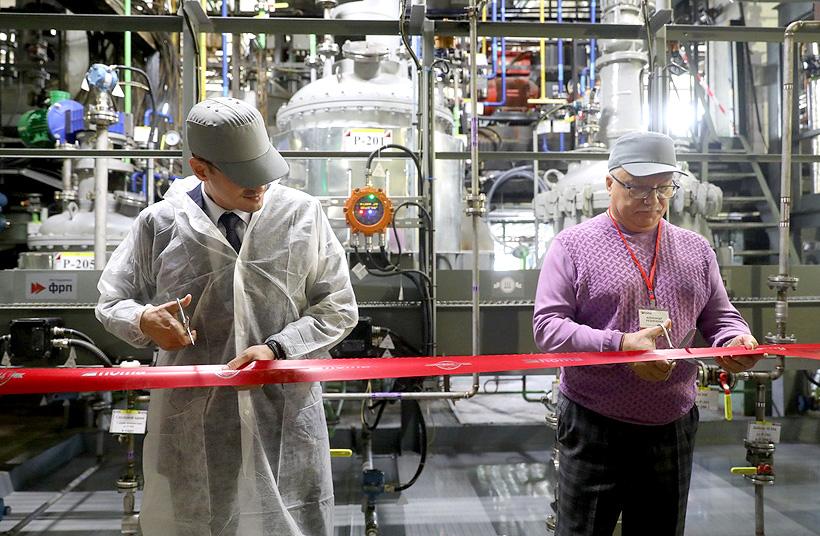 Компания «Хома» провела открытие новой опытно-производственной линии сополимер-акриловых дисперсий специального назначения в Нижегородской области