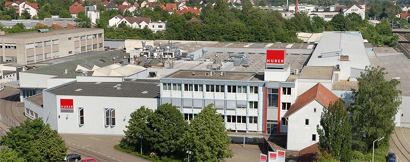 Завод по производствуg полимерной упаковки Huber в городе Эринген, Германия