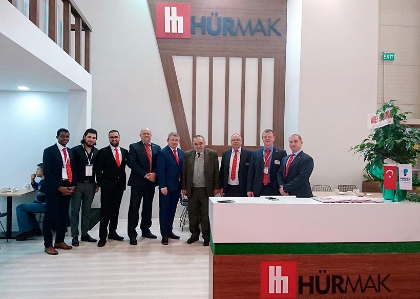 Руоссийское представительство «Хурмак Рус» было открыто в 2018 году