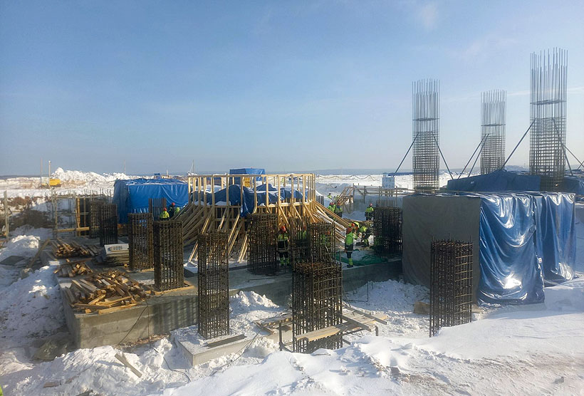 Начало строительства печей пиролиза этилена на «Иркутском заводе полимеров»