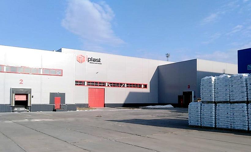 Производственный цех «Ай-Пласт» в городе Тобольск Тюменской области для выпуска полиэтиленовых поддонов