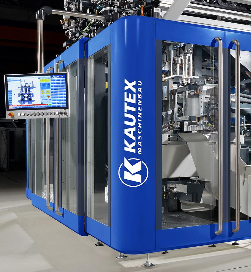 Клиенты Kautex Maschinenbau смогут выбрать, будет ли их экструзионно-выдувная машина Skyreef приводиться в действие гидравлическим, полностью электрическим или гибридным приводом