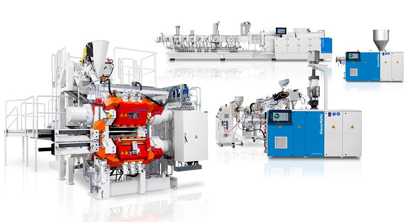 KraussMaffei почти все технологии и сегменты по производству экструзионного оборудования объединяет на одном участке в в Латцене на окраине Ганновера