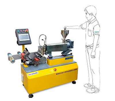 По функциональности мини-линия Labtech является полным лабораторным аналогом производственной линии изготовления пленки или листа
