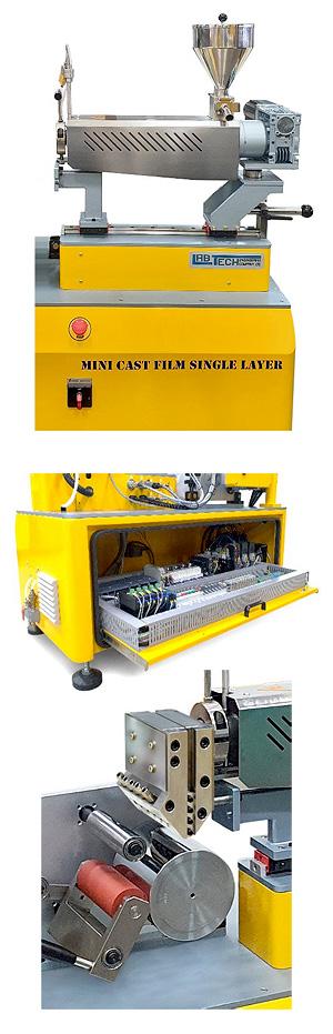 Мини-линия компаундирования и проката листа и пленки Labtech Engineerign