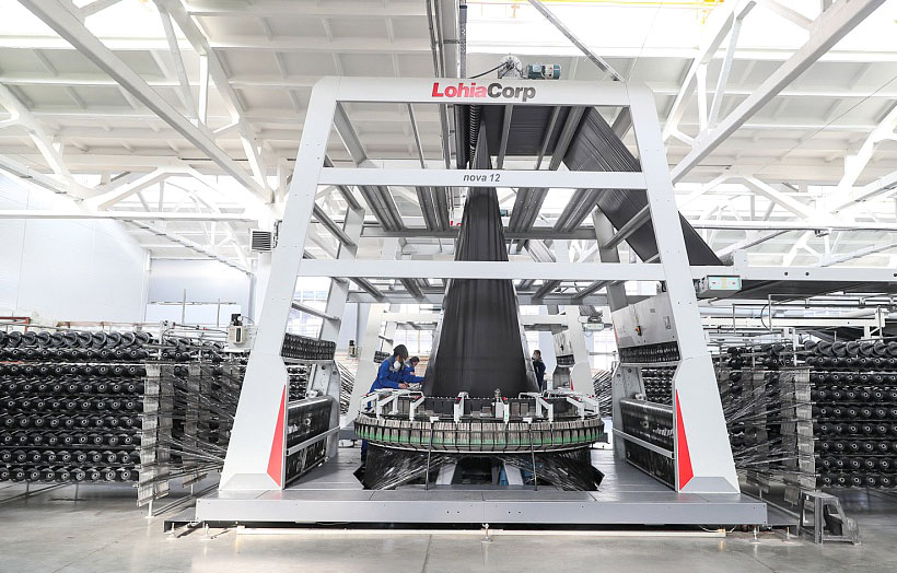 Новая линия производства Lohia Corp позволит «Волжскому заводу текстильных материалов» увеличить выпуск геополотна до 1,9 млн м2