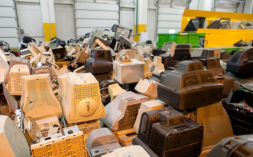 Вторичная переработка использованной бытовой техники и электроники на предприятии-партнере М.Видео-Эльдорадо