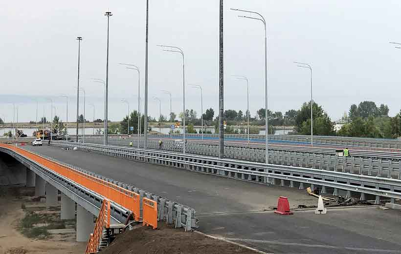 Участие в строительстве моста в Ульяновской области пополнило список достижений компании НЦК в замене замена металлических конструкций на композитные