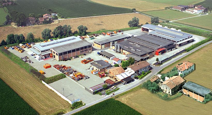 Завод Nevicolor, расположенной в Луцзаре Реджо-Эмилия в Италии