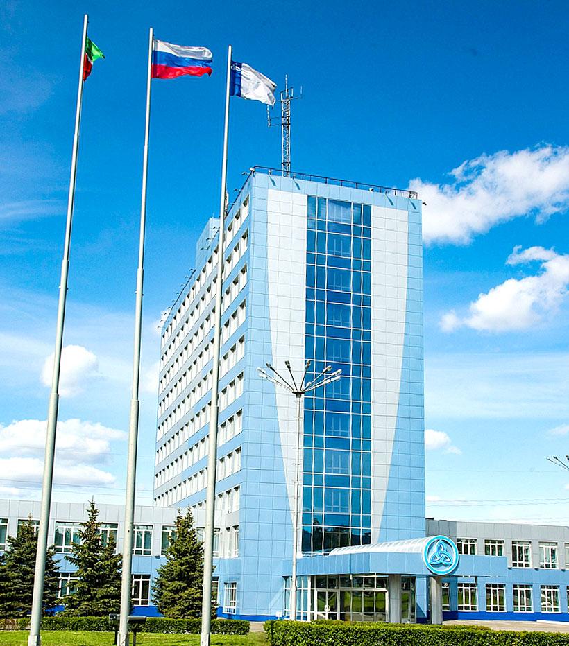 Здание дирекции завода полимеров «Нижнекамскнефтехим», Нижнекамск, Республика Татарстан