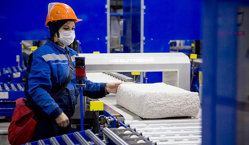 Новая линия по производству дивинил-стирольного синтетического каучука (ДССК) на «Нижнекамскнефтехим»