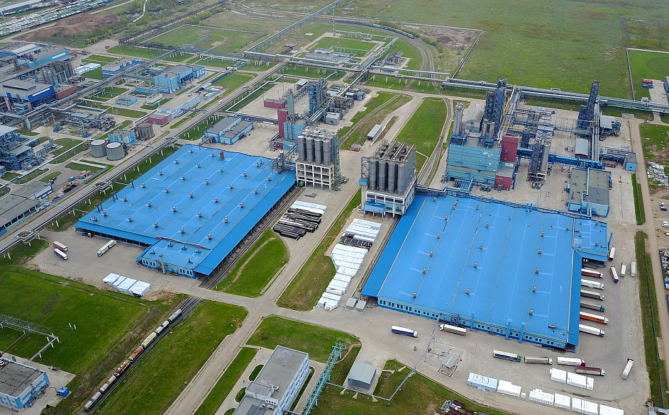 Мощности завода «Нижнекамскнефтехим» позволяют выпускать до 240 тыс. т полистирола в год