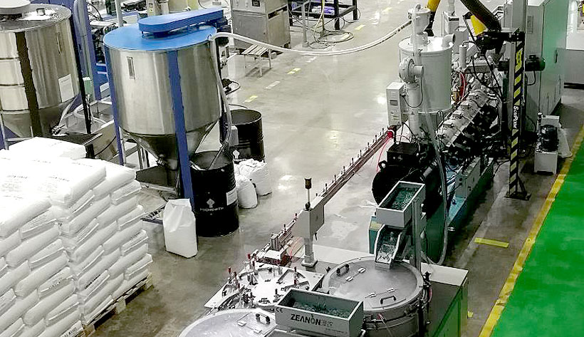 Новая производственная линия на заводе «Новый век агротехнологий» повзолила увеличить объем выпуска капельных трубок до 270 млн погонных метров в год